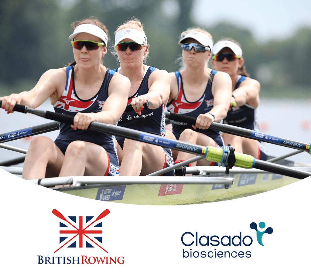 British Rowing partners with Clasado Biosciences